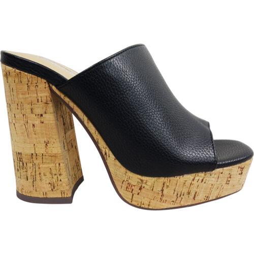 Nuevo Mujeres Damas Tacón Alto Bloque Plataforma De Corcho Antideslizante En Verano Sandalias Zapatos Talla