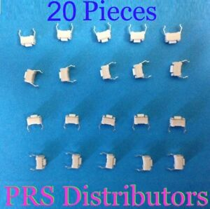 100Pcs momentanée Tactile Tact Push Button Switch 2 broches Angle Droit 3x6x4.3mm