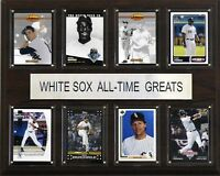 Mlb 12x15 Chicago White Sox All-time Greats Plaque