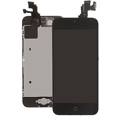 Black LCD Lens Touch Screen Display Digitizer Assembly for iPhone 5C + Tool Kit