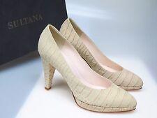 SULTANA Schuhe Designer Damenschuhe N3491 Celine Panama Talpa Gr. 37 NEU
