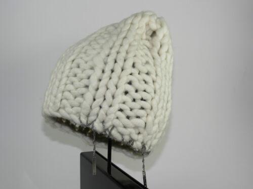 NEU DIESEL Mütze 3-FATTHIN CAP 00CHSR-00HMR-100 Weiß white Beanie one size