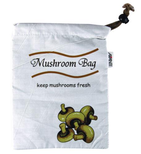 AVANTI Mushroom Bag 25 x 18cm Keep Mushrooms Fresher for Longer! 100/% Genuine