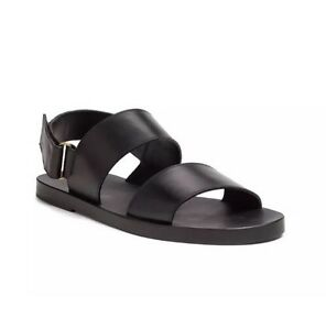 Gucci Men's Back Stick On Buckle Black Brighton Sandals 7526 Size 7 G $595 by Gucci