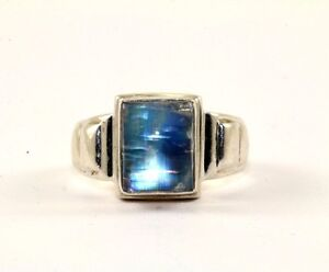 india nb nicky butler emerald cut moonstone ring sz 7 925