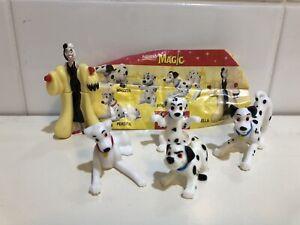 Vintage-039-90s-Disney-101-Dalmatians-Nestle-Magic-mini-figure-toy