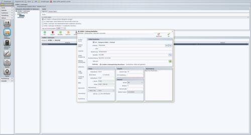 Handwerker Rechnungsprogamm Faktura Software Netzwerklösung 10 PC Server Client