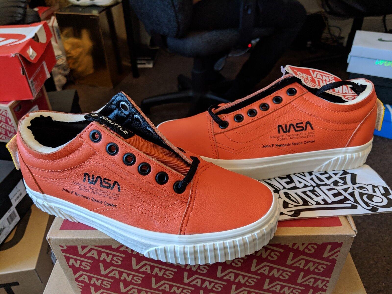 Vans Old Skool x NASA Space Voyager Firecracker Orange rot rot rot Weiß VN0A38G1UPA 3cc925