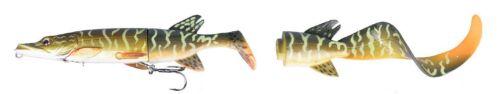 Savage Gear 3D Hybrid Pike Wobbler Gummifisch Hechtköder