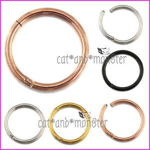 Titanium-Seamless-Segment-Clicker-Septum-Ear-Lip-Nose-Ring-Piercing-Earring-Hoop