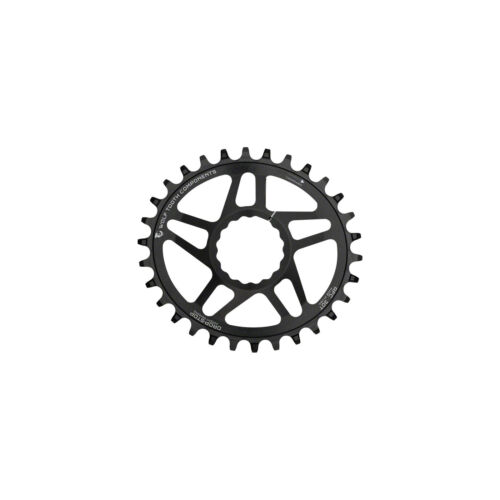 Wolf Tooth Components Drop-Stop PowerTrac DM 30t Chainring Cinch Black