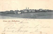 AK Gruss aus Zschadrass Colditz Ortsansicht Postkarte gel. 1902
