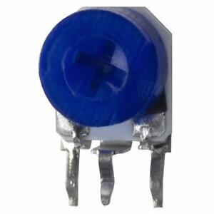 Bourns 3362 series trimmer potentiometer trimpot 500 Ohms Top Adjust