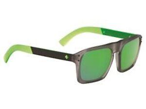 c16fb2bcff Image is loading Spy-Optic-Sunglasses-Balboa -Limelight-Rectangular-Grey-Green-