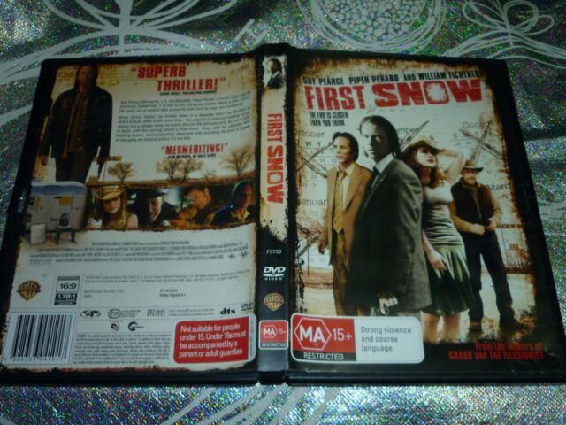 FIRST SNOW (DVD, MA15+) (137586 A)