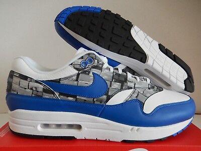 Buy Nike AIR MAX 1 atmos PRINT White Blue | AQ0927
