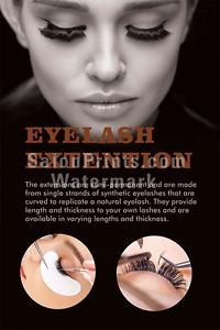 Details about Nail Salon Poster - Eyelash Extensions Permanent Makeup  Poster || P-257