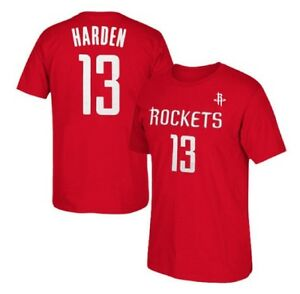 reputable site 99765 b8a02 Details about James Harden #13 Houston Rockets T-shirt Jersey