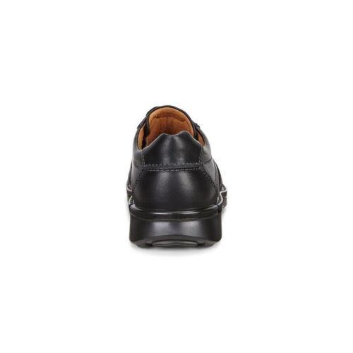 500104 para hombre Fusion Ecco cuero de negro Ii cordones con vgx6BPnq