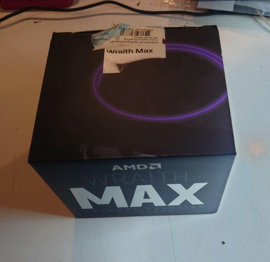 AMD Wraith Max RGB CPU Cooler new unused
