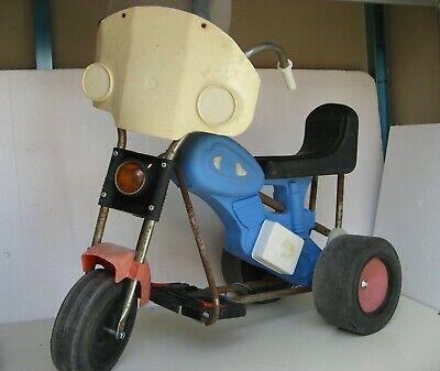 Cordiale Moto Polizia Batteria 6 Volt Ricaricabile Nuova Sogimez Anni '70