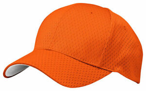 Port-Authority-Hook-Loop-Closure-Polyester-Mesh-Mid-Profile-Breathable-Cap-C833