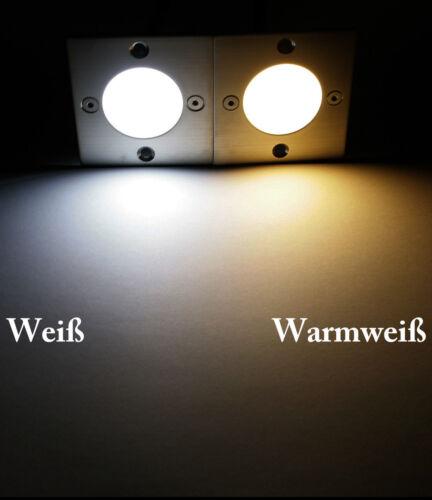 230V LED Wand Einbauleuchten Royal-S IP20 Warmweiss Kaltweiss für Schalterdosen