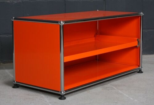 Auszugstablar TV-Board Medien Hifi Orange USM Haller Lowboard Regal 1 Fach