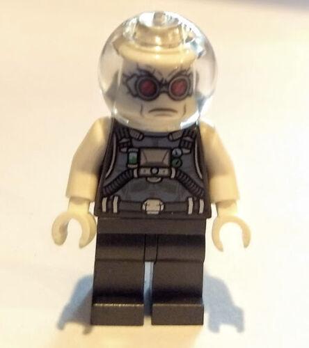 FREEZE MINIFIG figure minifigure 76118 batman villain bad guy NEW LEGO MR