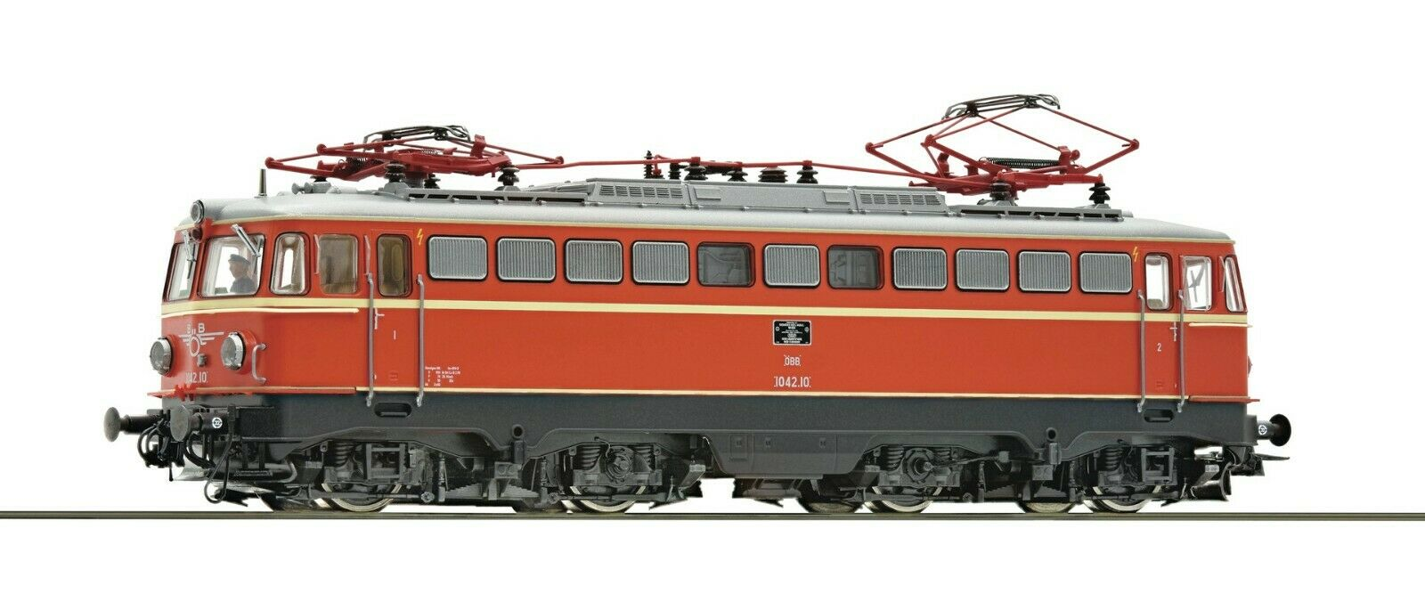 Roco HO scale Electric locomotive 1042.10 OBB