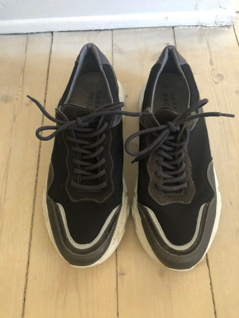Sneakers, Garment Project, str. 45,  grå/sort,…