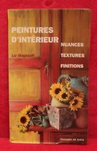 Peintures-d-039-interieur-Liz-Wagstaff-livre-occasion