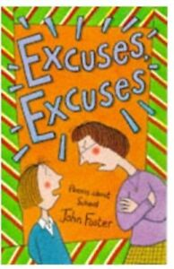 Very-Good-0192762095-Paperback-Excuses-Excuses-Poems-About-School