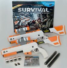 NEW PS3 Cabela's Survival Shadows of Katmai GAME + 2 GUNS Bundle top shot elite