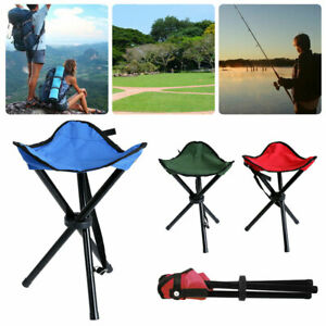 Foldable-Tripod-Chairs-Ultralight-Outdoor-Fishing-BBQ-Triangle-Seat-Stool-Chair