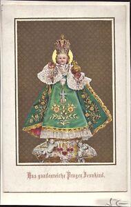 Prag-Jesus-Nino-Cuadro-Santos-Amria-Imagen-Milagrosa-Bohemia-B-6628