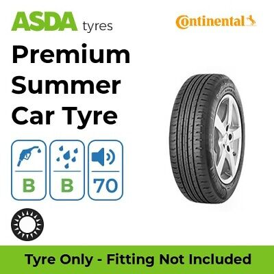 Passenger Car C//B//70 Continental ContiEcoContact 5-185//70 R14 88T Summer tyre