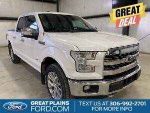 2016 Ford F 150 Lariat   Leather Heated Seats   Moonroof   Navigation   Back Up Camera