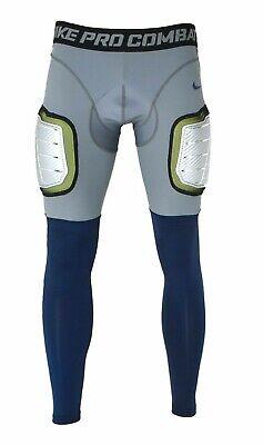 NIKE Pro Combat Hyperstrong De Tech Hard Plate Football Tights Pants 634669 064 | eBay
