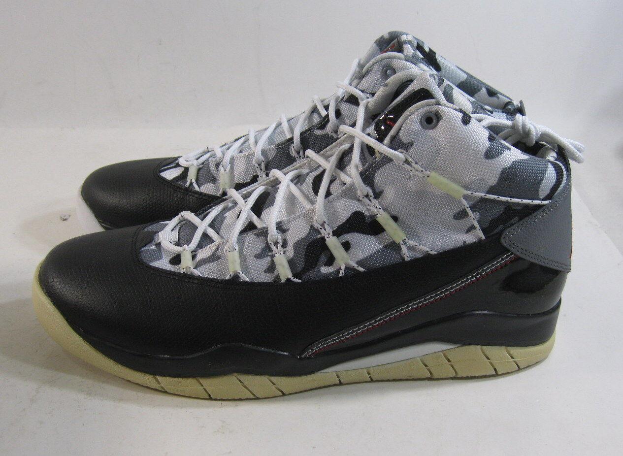 Jordan erster flug basketball 616846 020 schwarz / studio ROT / reine größe 10,5
