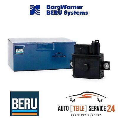Beru Original Steuergerät Glühzeit und Febi 6x Glühkerzen 6-Zylinder Set BMW 5er