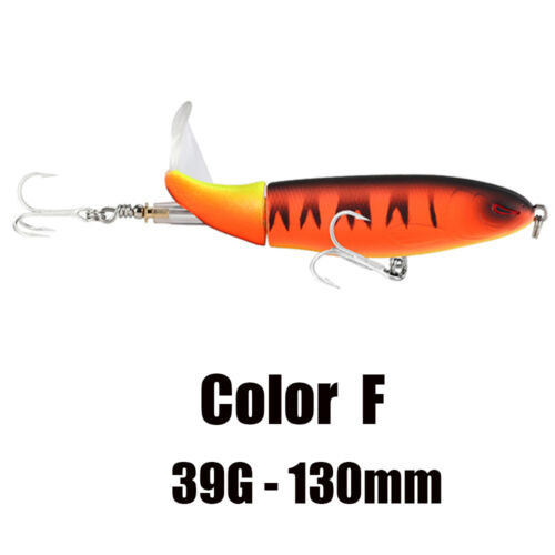 39g 130mm Topwater Bass Köder Hot SeaKnight Fischköder 13g 90mm