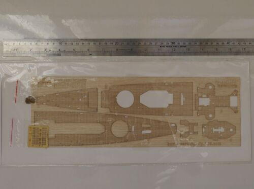 Hunter 1//350 GERMAN ADMIRAL GRAF SPEE wooden deck for TRUMPETER 05316 W35019