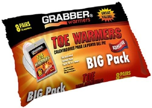 8 Pack Pair Grabber Warmers Toe Warmer