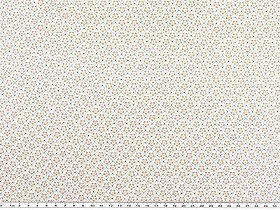 NEU ! Baumwoll-Druck, Stoff,  Rauten und Blume in Pastellfarben, 142-145cm breit