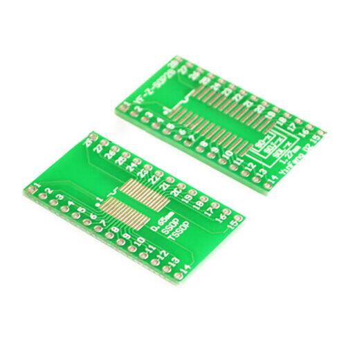 1,27 mm IC adaptateur PCB Board 10PCS SOP16 SSOP16 TSSOP16 Pour DIP16 0,65