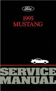 1995 Ford Mustang Shop Service Repair Manual Book Engine Drivetrain Electrical