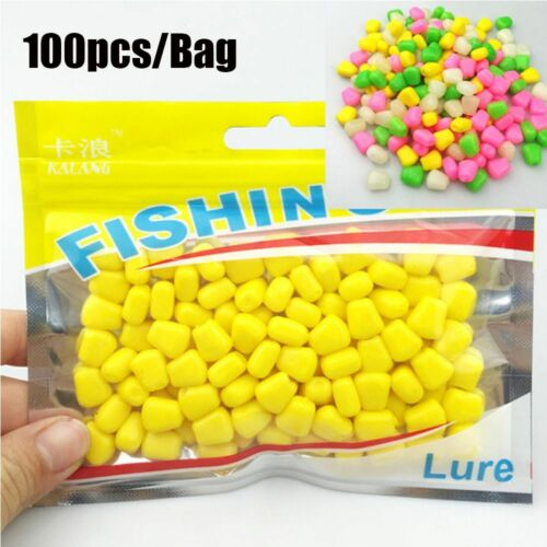 100Pcs 44 Grams Soft Baits with Corn Smell Carp Fishing Lures Floating Baits