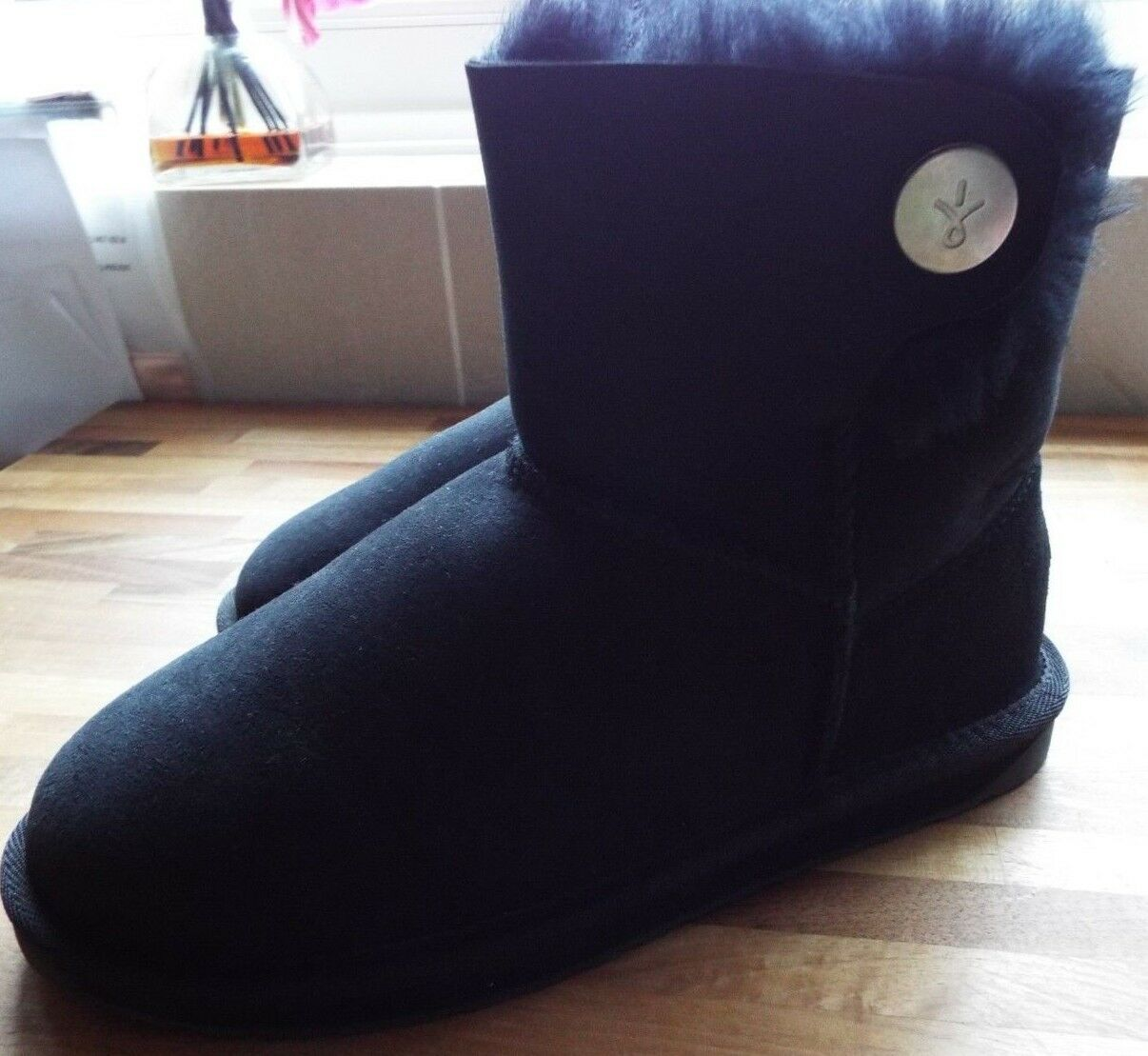 Emu Originals Collection Water Resistant Ore Button Down Boot BLACK Size 5