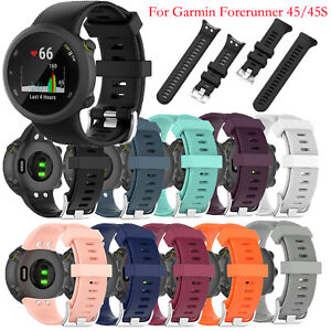 Replacement Watchband Watch Strap Sport Part for Garmin forerunner 45/ 45S Watch